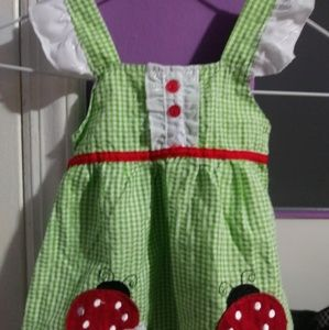 Other - Summer baby girl dress with short